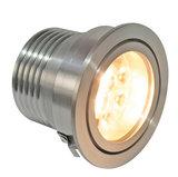 CLS LUXO 3 inzetmodule 8W 3000K 120° LED inbouw spot aluminium incl. diffusion filter_
