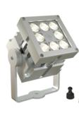 REVO Basic Magno Blank geadoniseerd aluminum LED spot buiten armatuur speciaal dimbaar _