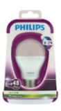 Philips LED Lamp Bulb 8W (48W) E27 Warm Wit Niet Dimbaar_