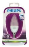 Philips kaars LED LAMP mat 4W (30W) E14 (kleine fitting) _