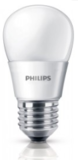 Philips LED LAMP  Kogel mat 3W 25W E27 (grote fitting) warm wit led verlichting_