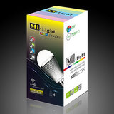 Milight RGBW 9W LED Light WiFi LED lamp - iPhone and Android Controlled_