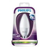Philips kaars LED LAMP mat warm wit 6watt E14 ( kleine fitting)_