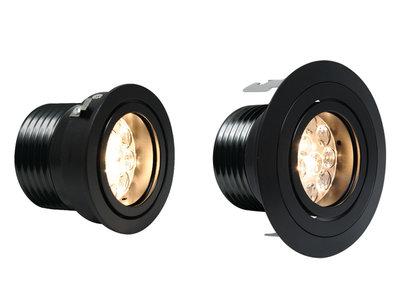 CLS Luxo 3 inzetmodule Zwart 8W 40° inbouw spot