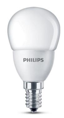 Philips LED lamp kogel mat 4W (30W) E14 warm wit niet dimbaar led verlichting