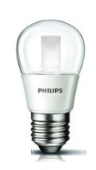 Philips LED LAMP kogel helder 4W (25W) E27 (grote fitting) warm wit led verlichting