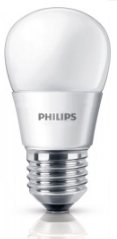 Philips LED LAMP  Kogel mat 3W 25W E27 (grote fitting) warm wit led verlichting