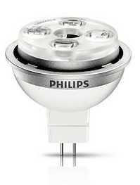 Philips MyVision LED spot 7W(35) GU5.3 niet dimbaar 3000K