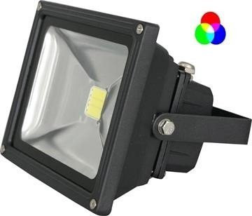 Tronix LEDFloodlight 60W RGB LED incl afstandsbediening IP65