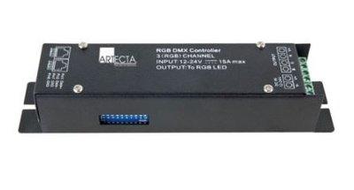 Artecta LED Dimmer RGB DMX Unit 12-24Vdc 3A/ch