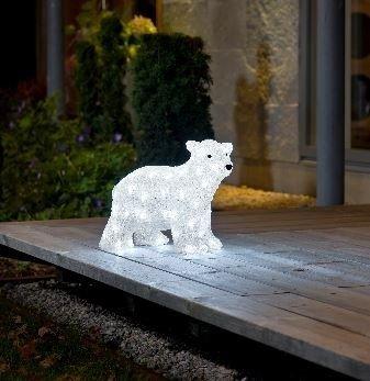 Acryl ijsbeer staand