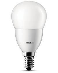 Philips kogel LED LAMP mat E14 (kleine fitting)  6W (40W) ledverlichting