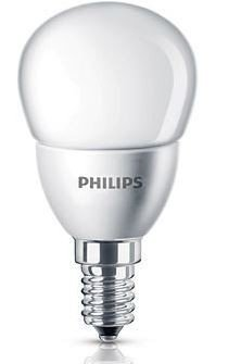 Philips LED lamp kogel mat 4W(25W) E14 warm wit niet dimbaar led verlichting
