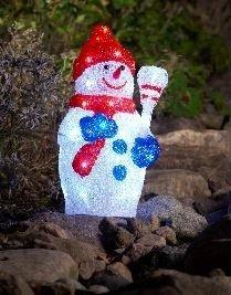Acryl Sneeuwpop