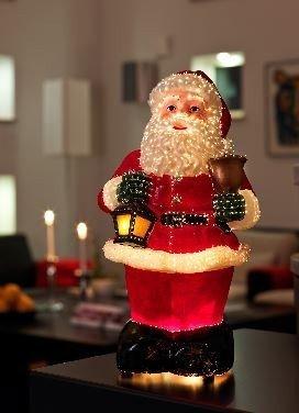 Fibre optic Kerstman