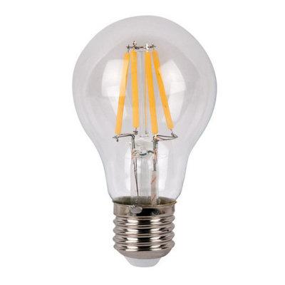Showtec LED Bulb Clear WW filament led lamp peer 4Watt 2700K