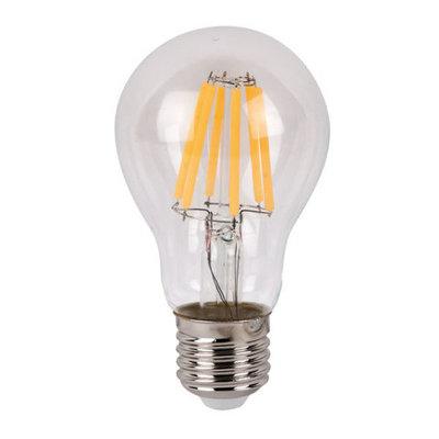 Showtec LED Bulb Clear WW filament led lamp peer 6Watt 2700K