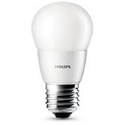 Philips LED LAMP BULB FLAME kogel E27 (grote fitting) 3.5W extra warm wit led verlichting