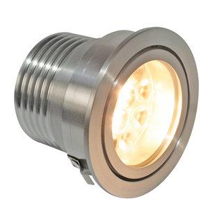 CLS LUXO 3 inzetmodule 8W 3000K 120° LED inbouw spot aluminium incl. diffusion filter
