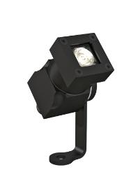 CLS REVO Micro Basic Zwart Geadoniseerd Aluminum LED Spot Buiten Armatuur