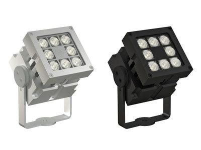 CLS Revo Basic Zwart of Blank Geadoniseerd Aluminum LED Buiten Armatuur