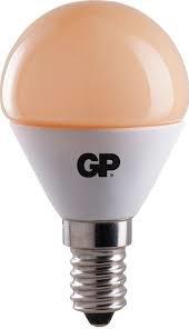 GP LED lamp Kogel 3.5W (22W) E14 Extra Warm Wit Niet Dimbaar
