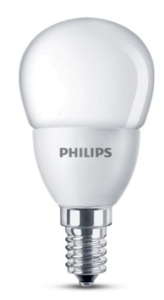Philips LED lamp kogel mat 4W (30W) E14 warm wit niet dimbaar led ...