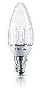 Philips MyAmbiance LED kaars helder 3W (15W)  E14 2700K dimbaar