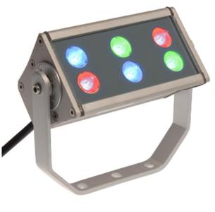 Tronix Floodlight  6 LED  beam 45°  24V  RGB