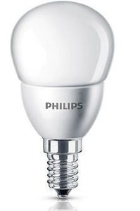 Philips LED lamp kogel mat 4W(25W) E14 warm wit niet dimbaar led verlichting