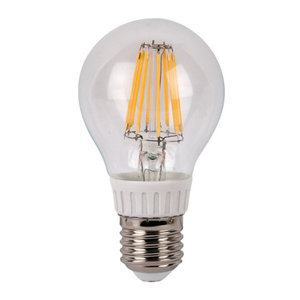 Showtec LED Bulb Clear WW filament led lamp peer 8Watt 2700K dimbaar