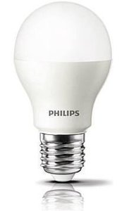 Philips LED LAMP FLAME bulb lamp 5W (30W) E27 (grote fitting)extra warm wit led verlichting