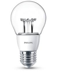 Philips LED LAMP BULB helder dimbaar 6W ( 40W ) E27 (grote fitting) warm wit led verlichting