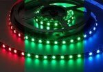 LED-strip-flexibel-multi-colour-5-Meter-RGB-12V-144W-per-meter-IP20-witte-printplaat