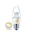 Philips-dimtone-Master-LED-kaars-dimtone-E27(Grote-fitting)-dimbaar-van-3000K-2200K-6Watt-(40W)-100°